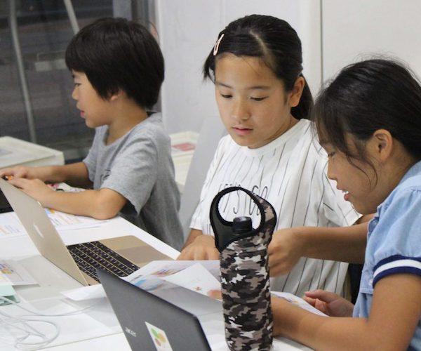 プロキッズ 御成門校のプログラミング風景