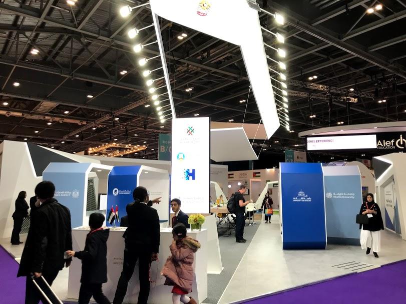 UAEの展示スペース