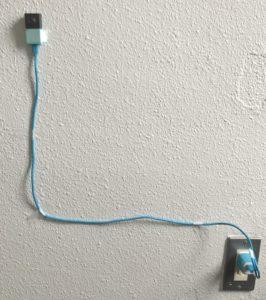 検証中の人感センサー